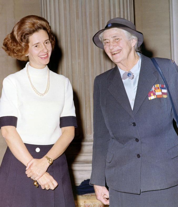 La Reine Fabiola et Lady Baden Powell