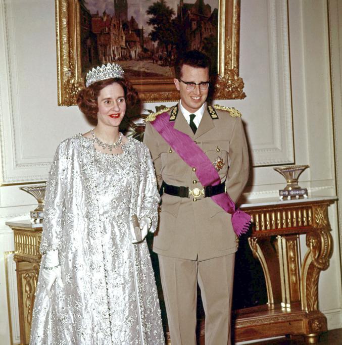 La reine Fabiola et le roi Baudouin