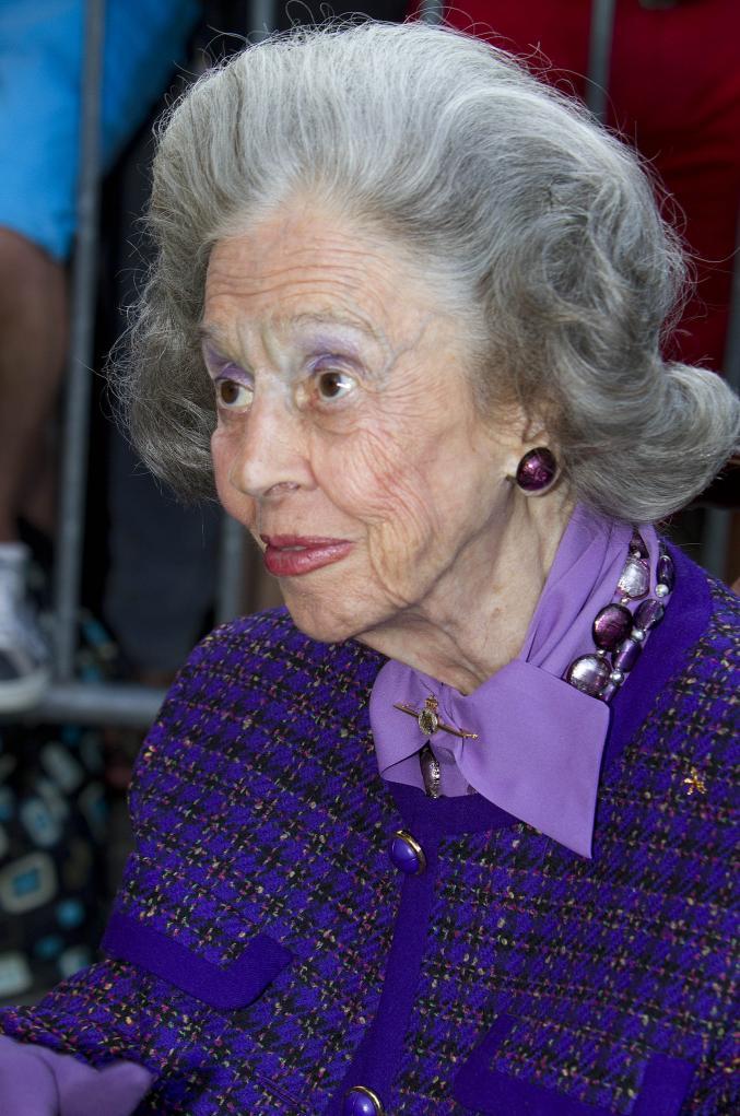 la Reine Fabiola lors du dernier Bal National