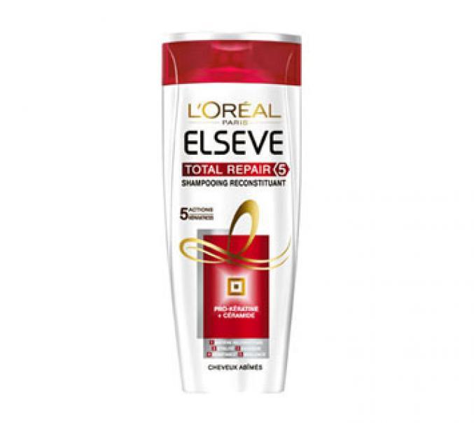 Les shampooings Elsève de L'Oréal Paris