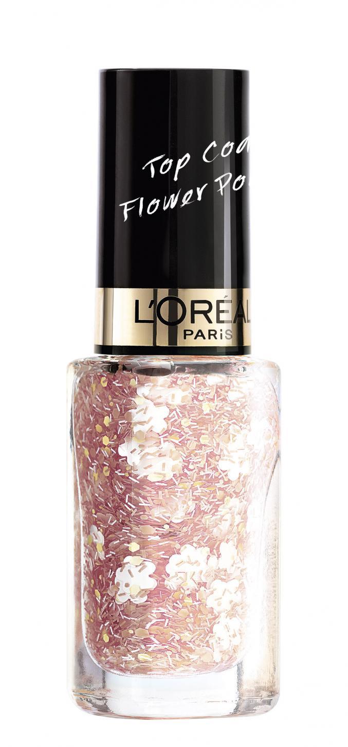"""Top  coat Flower Power - """"Boho Look"""" (L'Oréal Paris)"""