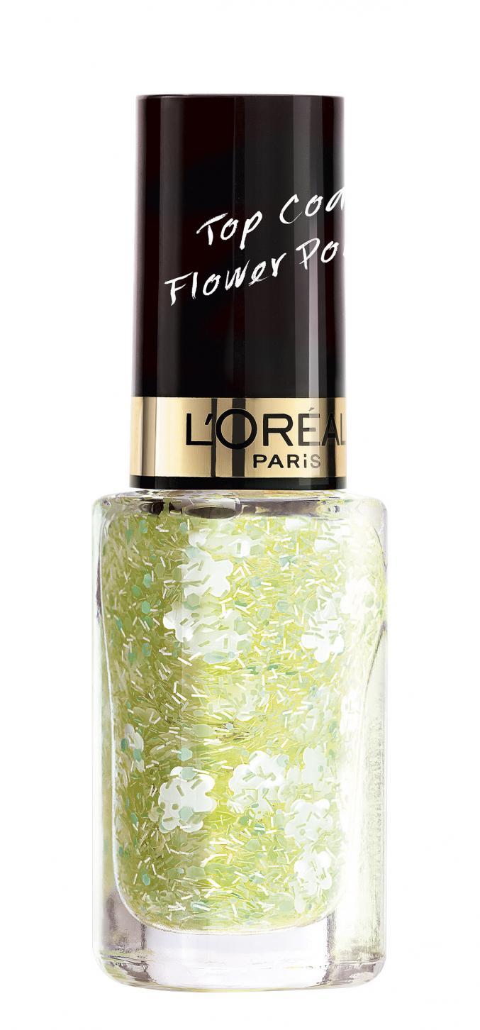 """Top  coat Flower Power - """"Coachella"""" (L'Oréal Paris)"""