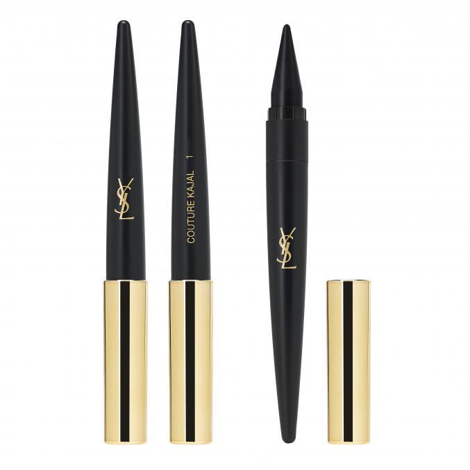 """Couture Kajal """"Noir Ardent"""" (Yves Saint Laurent)"""