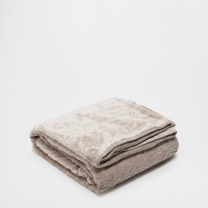Couverture en polaire paisley (130 x 170 cm) - 69,99 € Zara Home