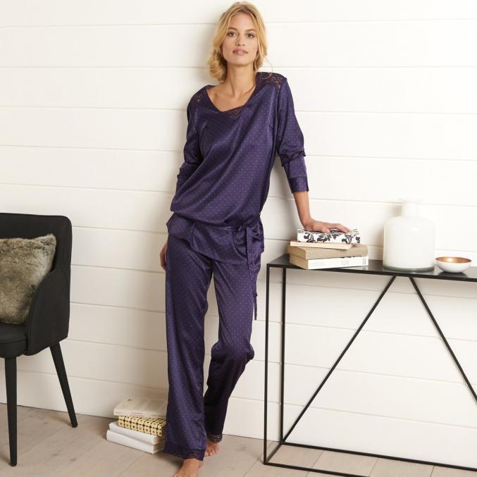 Pyjama satin La Redoute - 29,99€
