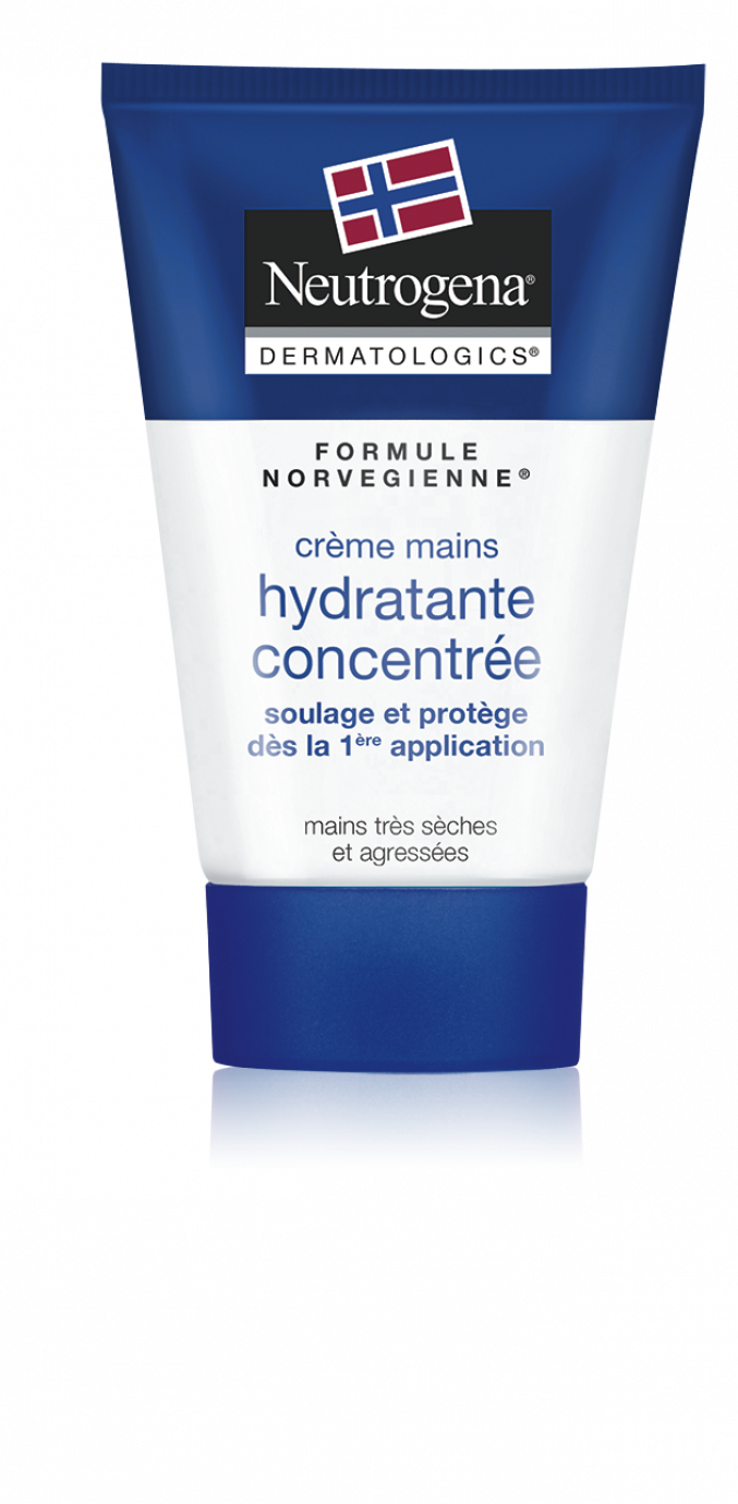 Crème mains hydratante concentrée (Neutrogena)