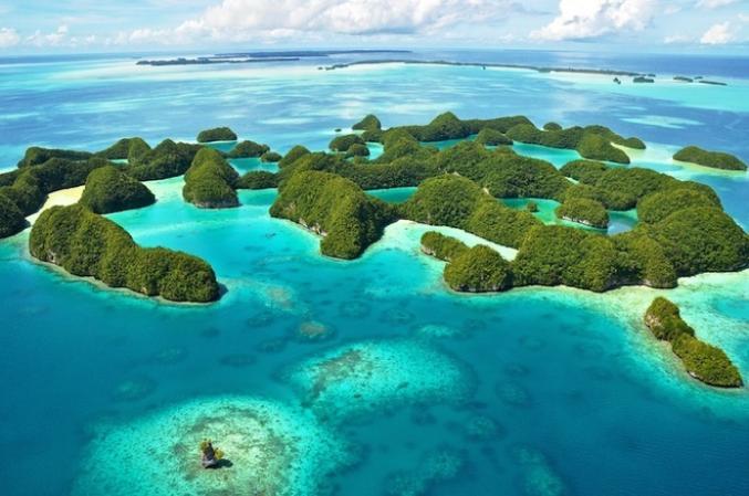 République des Palaos pour les amoureux des fonds marins