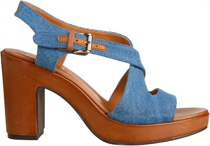 Sandales bi-matière, 215 €, Gigue.