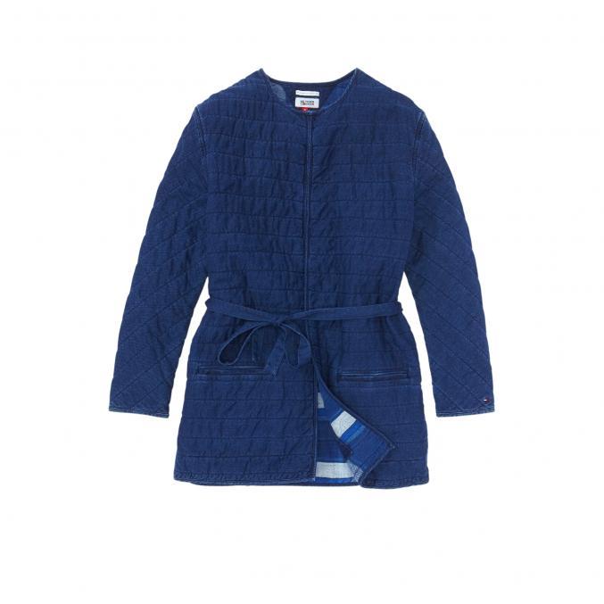 Veste kimono matelassée, 199 €, Tommy Hiliger.