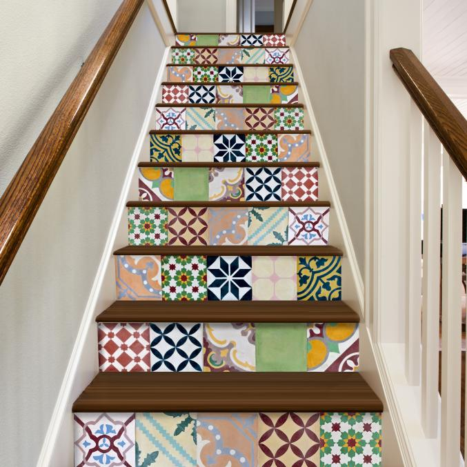 Stickers pour escaliers