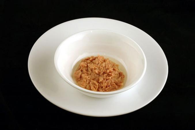 100g de thon dans de l'huile d'olive