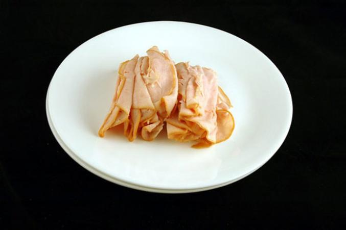 204g de tranches de filet de poulet