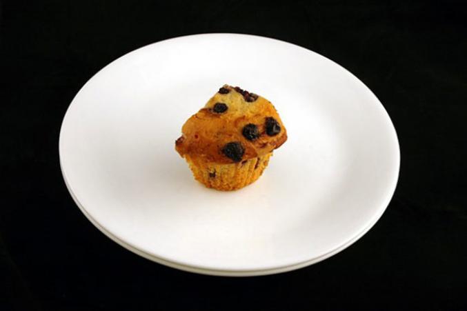 72g d'un muffin aux fruits des bois
