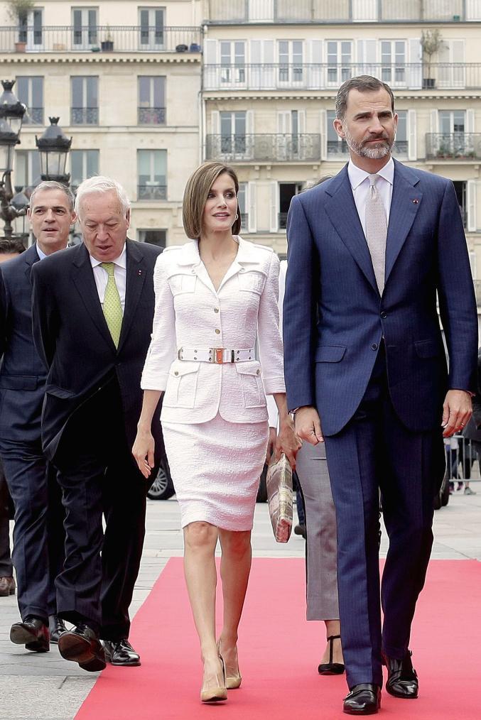 Addict à son image, Letizia d'Espagne