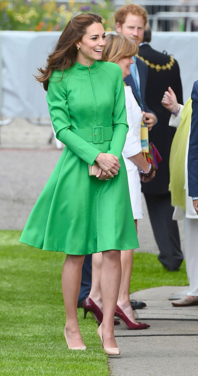 Naturellement chic, Kate Middleton