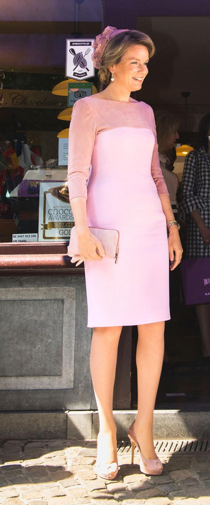 Ambassadrice de la mode, Mathilde de Belgique