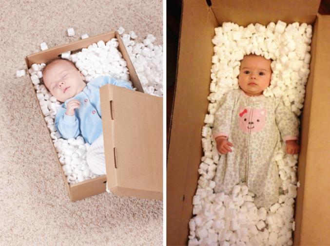 Dormir dans une boîte