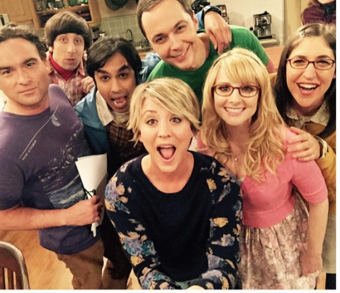 L'équipe de la série The Big Bang Theory