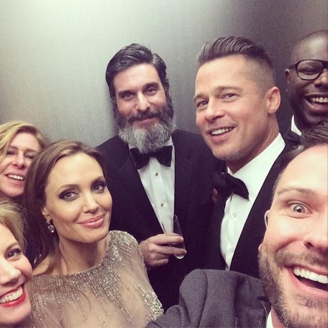 Autre selfie de la Cérémonie des Oscars
