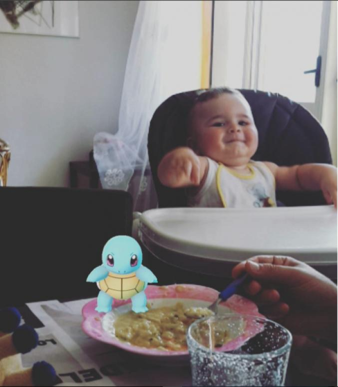 Le Pokémon Carapuce
