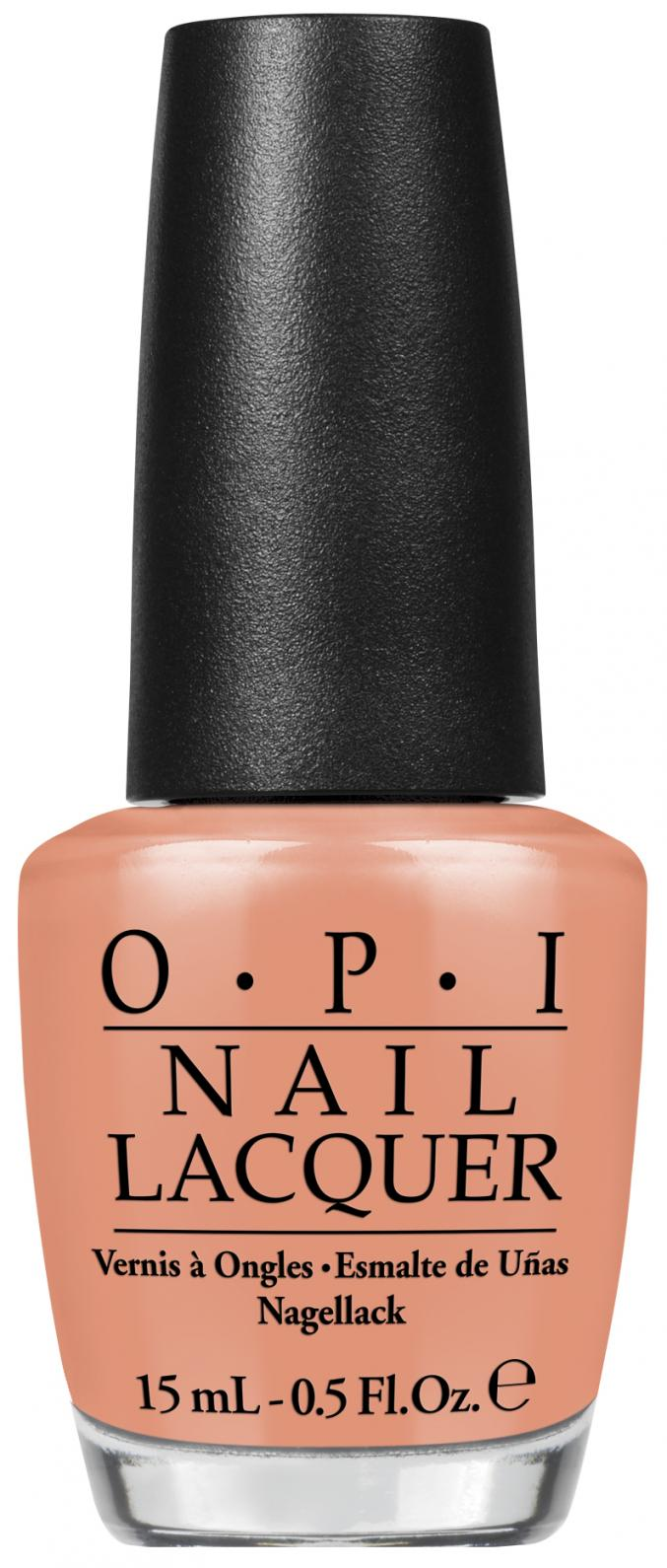 """I'm getting a tangerine"" (OPI)"