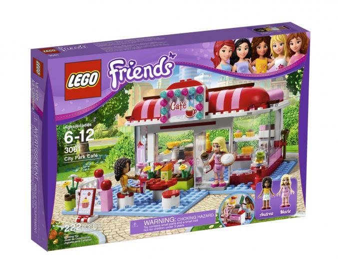 3061 LEGO friends cityparkcafé 29,99