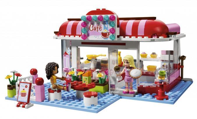 3061 LEGO Friendscity park Café 29,99