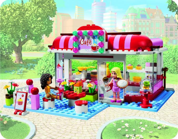 3061 LEGO friends city parkcafé 29,99