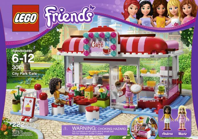 3061 LEGO Friends City ParkCafe29,99