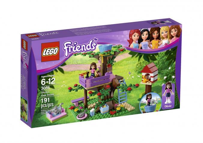 3065 LEGO Friends Olivia s Boomhut 19,99