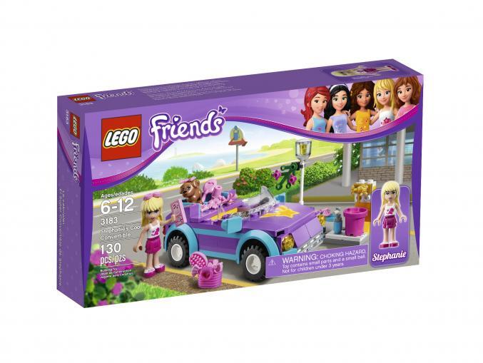 3183 LEGO Friends Stephanie s Cabrio 14,99