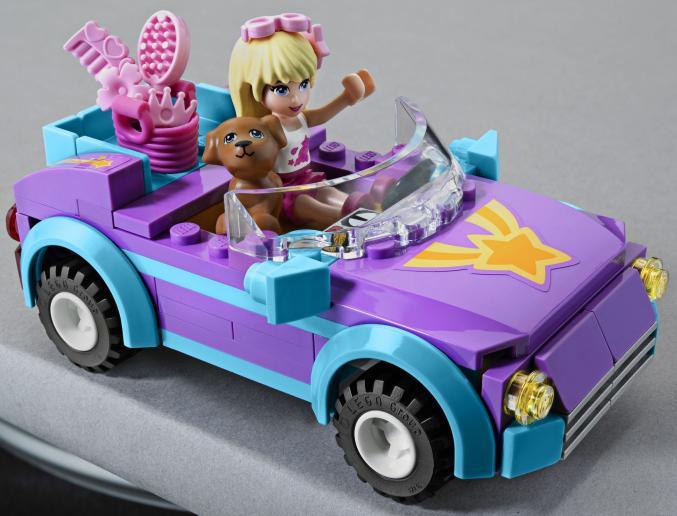 3183 LEGOFriends Stephanie sCabrio 14,99