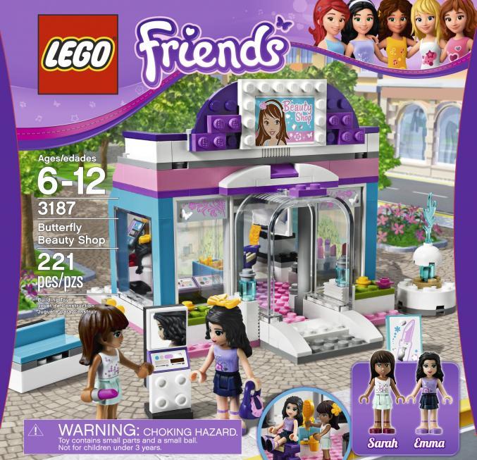 3187 LEGO Friends stijlvolleschoonheidssalon27,99