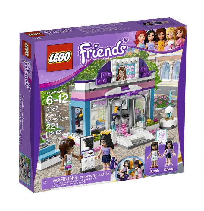 3187 LEGO Friends Stijlvolle Schoonheidssalon 27,99