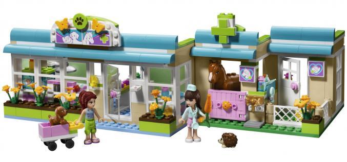3188 LEGO Friends Drukke Dierenkliniek44,99