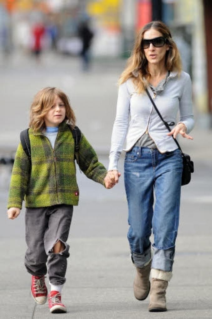 Sarah Jessica Parker et James