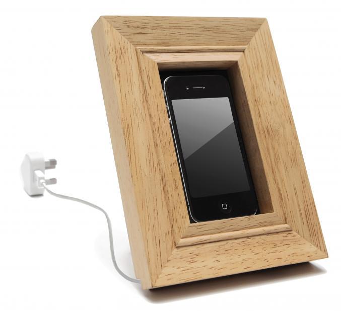 Cadre en bois pour Smartphone, Home autour du monde, 30€