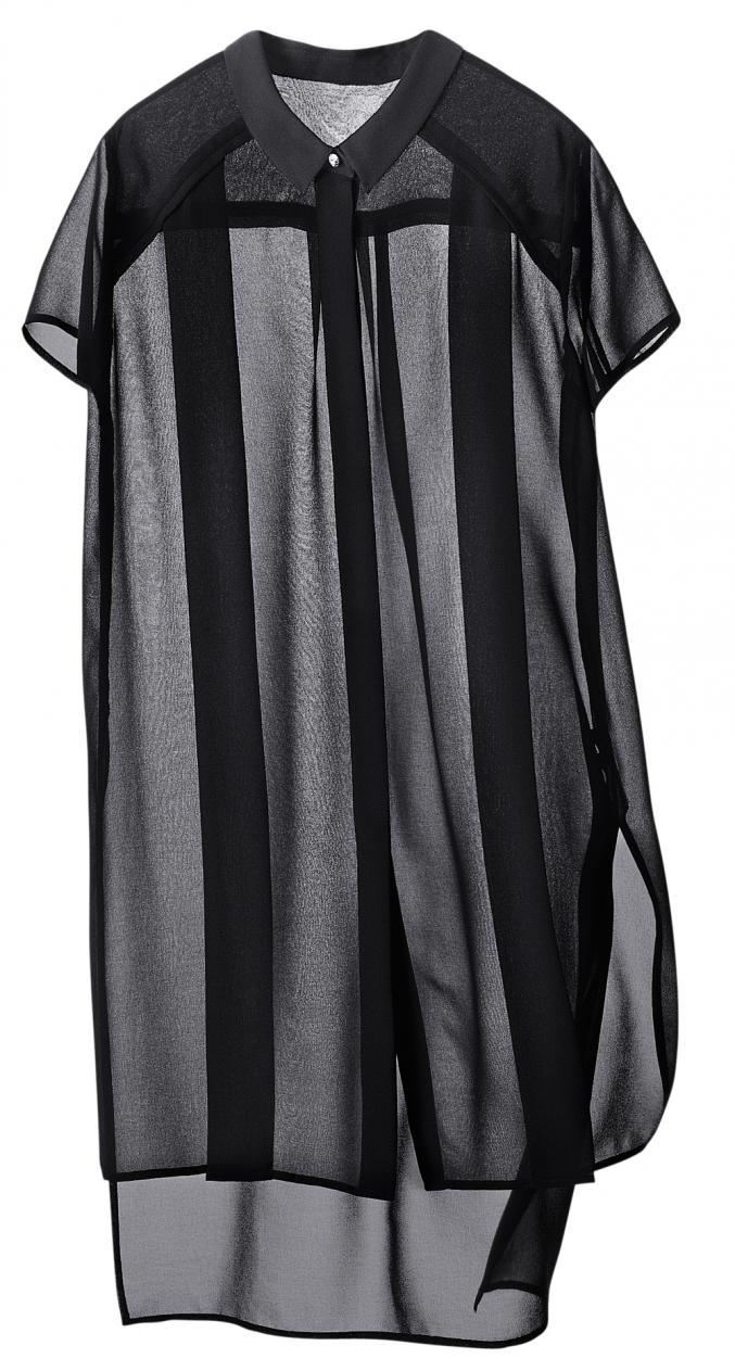 H&M - Long top en voile transparent