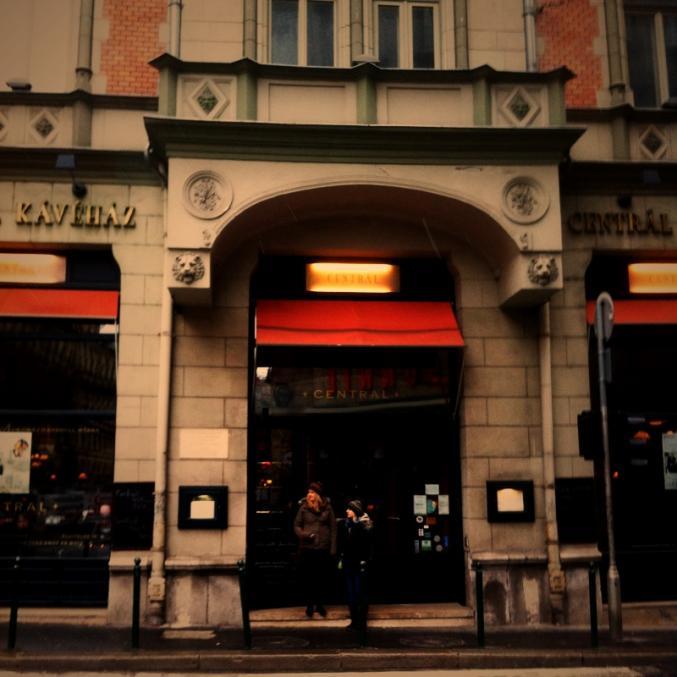 Citytrip à Budapest: Café Central