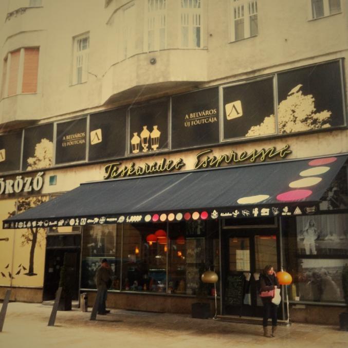 Citytrip à Budapest: Taskaradio Eszpresszo