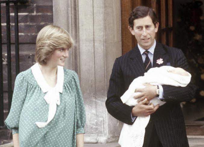 La naissance du Prince William