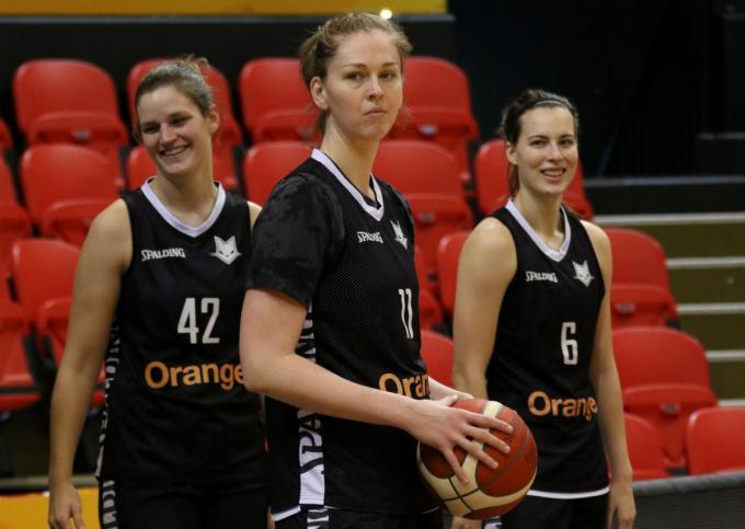 Emma Meesseman mag nog niet opnieuw spelen.©VDB / Bart Vandenbroucke VDB