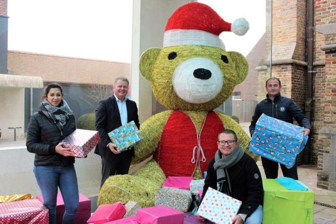Stad Oudenburg wil ervoor zorgen dat alle kinderen speelgoed krijgen.© LIN