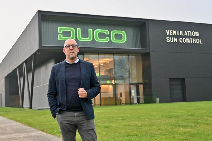 Bart Debusschere is sinds 2008 bedrijfsleider bij Duco Projects.© WVH