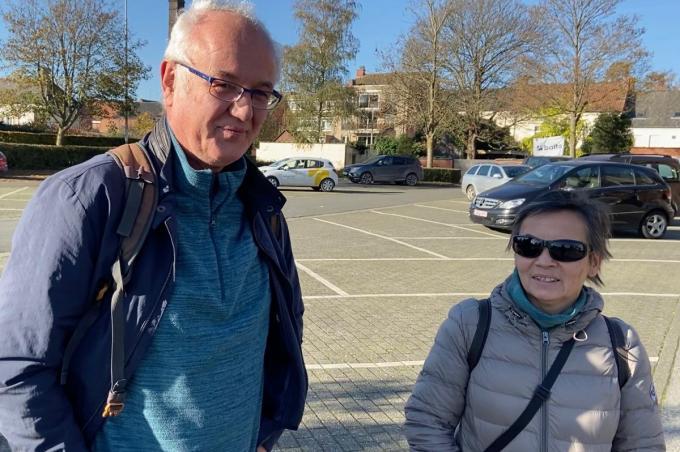 Jan Feys en Gerda Bossu© KVdm