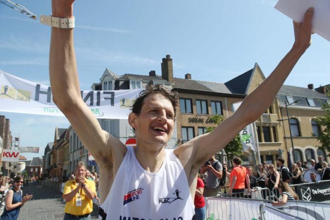 Filip Vercruysse verbeterde zijn persoonlijk record.© VDB