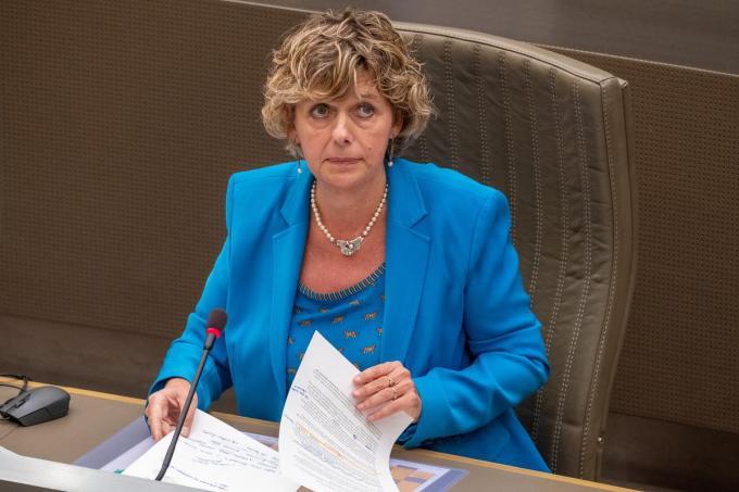 Vlaams parlementslid Katrien Schryvers©NICOLAS MAETERLINCK Belga