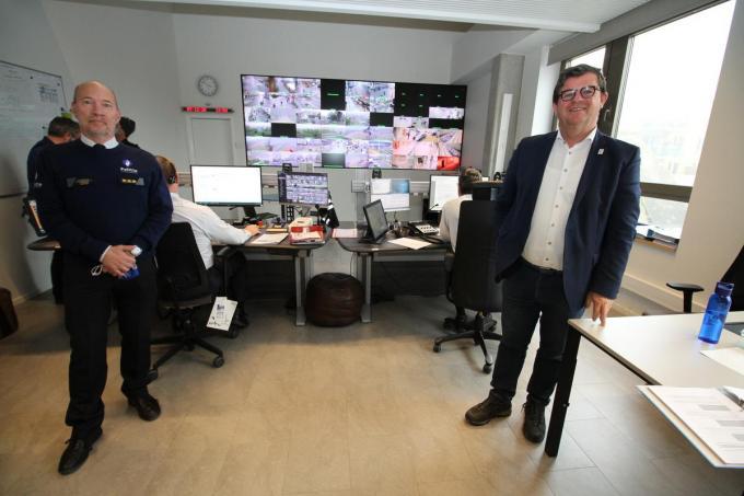 Korpschef Philip Caestecker is blij met de extra financiële steun die de lokale politie Oostende krijgt.©Jeffrey Roos