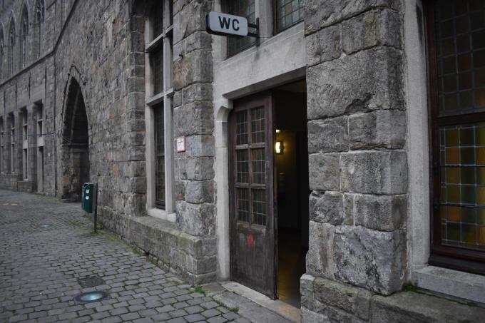 In het openbaar toilet naast de Donkerpoort komt een zelfreinigend toilet. (Foto TOGH)