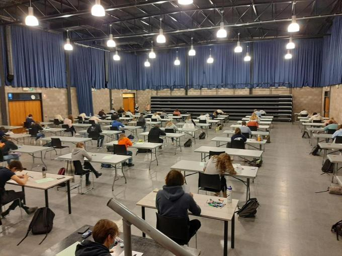 Examenkoorts in het Hofland.© (Foto JM)